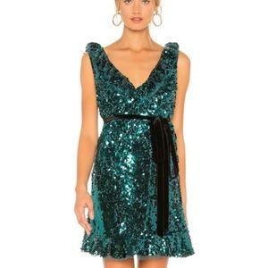 NWT Free People Sequin Siren Mini Dress